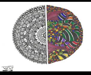 Half Mandala - Finished by smileyface001