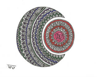 Moon Mandala by smileyface001