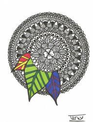 Mandala - 27.8.17 by smileyface001