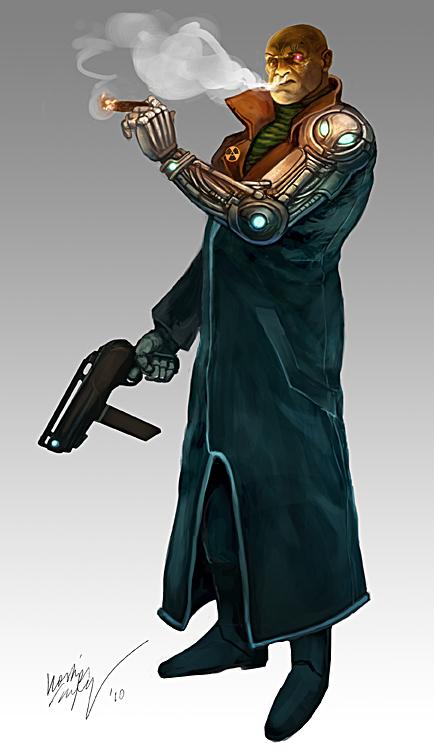 Cyborg by Odinoir