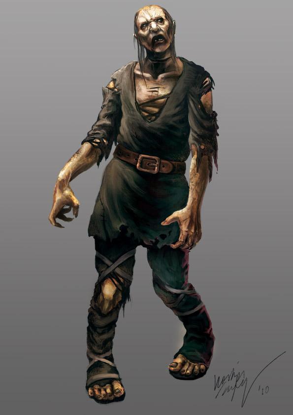 Zombie by Odinoir
