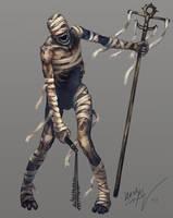 the Mummy by Odinoir