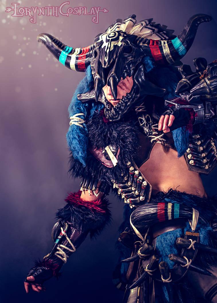 Monster Hunter World Dober Armor Male By Lorynthcosplay On Deviantart