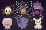 Ghost Sticker Set