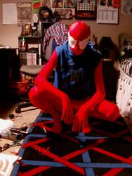 Scarlet-Spider Cosplay (WIP) by pwarner184