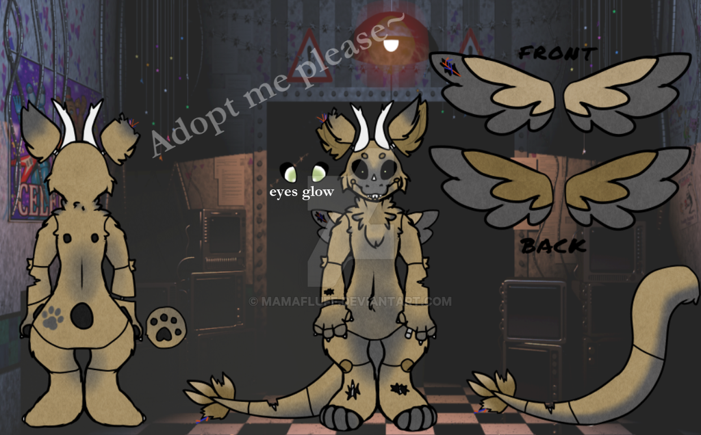 Angel Dragon Auction - Fazbear's Favorite [Closed] by Lawlesssin
