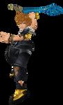 Ventus/Tidus Final Fantasy X Render -BBS Final Mix