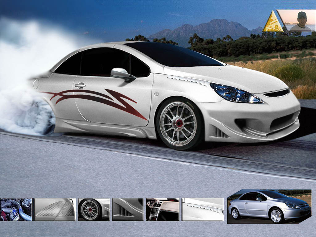 peugeot 307 cc virtual tuning by haskan on deviantart. Black Bedroom Furniture Sets. Home Design Ideas
