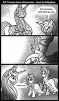 Princess Amore Restoration Comic by MelSpyRose