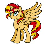 Alicorn Sunset Shimmer