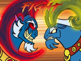 Grogar VS Grogar by MelSpyRose