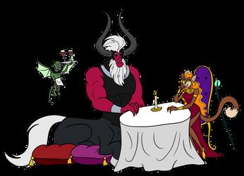 MLP - Dating the Enchantress by MelSpyRose