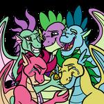 Spike reunites with his Siblings