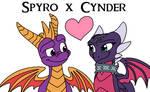 Spyro x Cynder (Reignited version)
