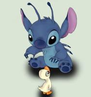 Stitch Fan Art by JodieKatt
