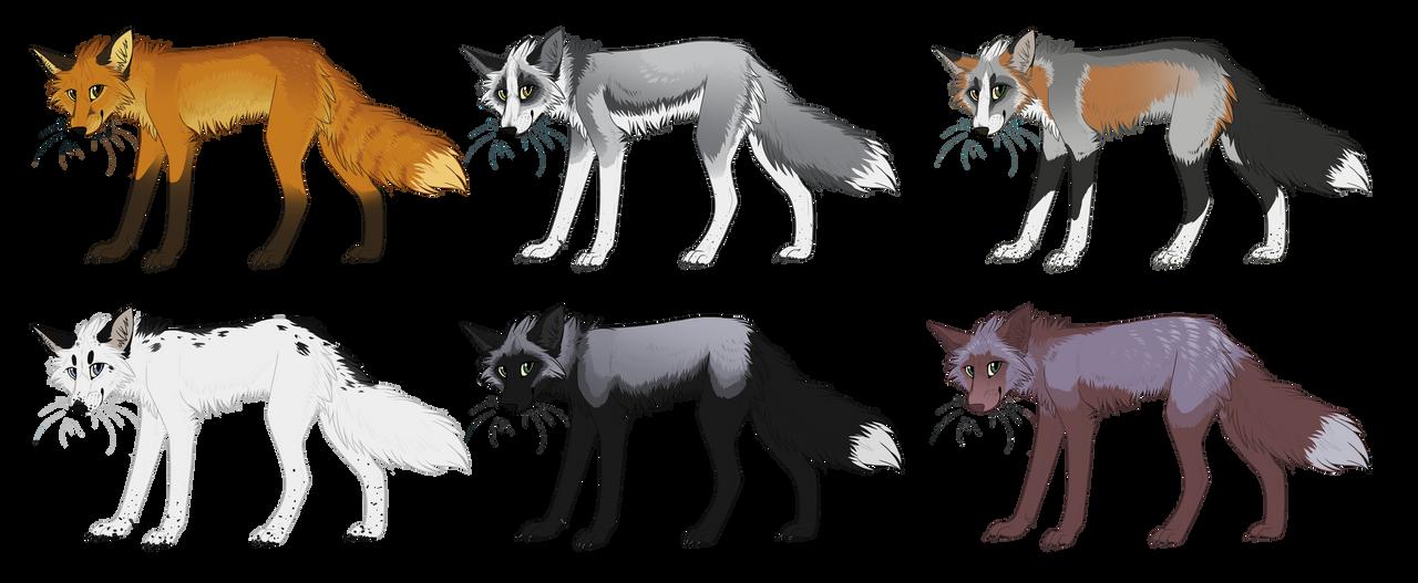 Natural Fox Adopts (CLOSED)