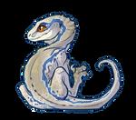 Blue but wowie she's Little