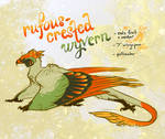 (CLOSED) Adopt: Rufous-Crested Wyvern