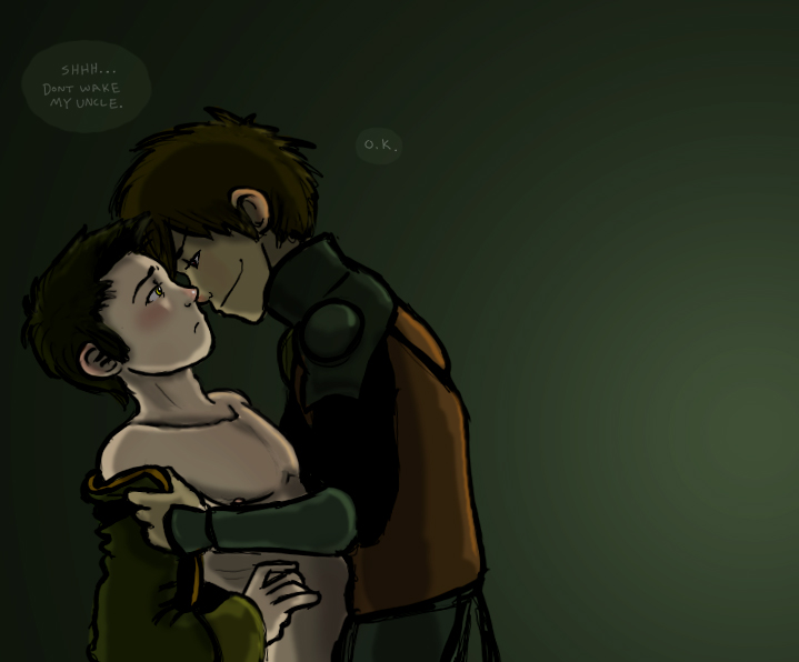 Jet and Zuko by thehaydenclone