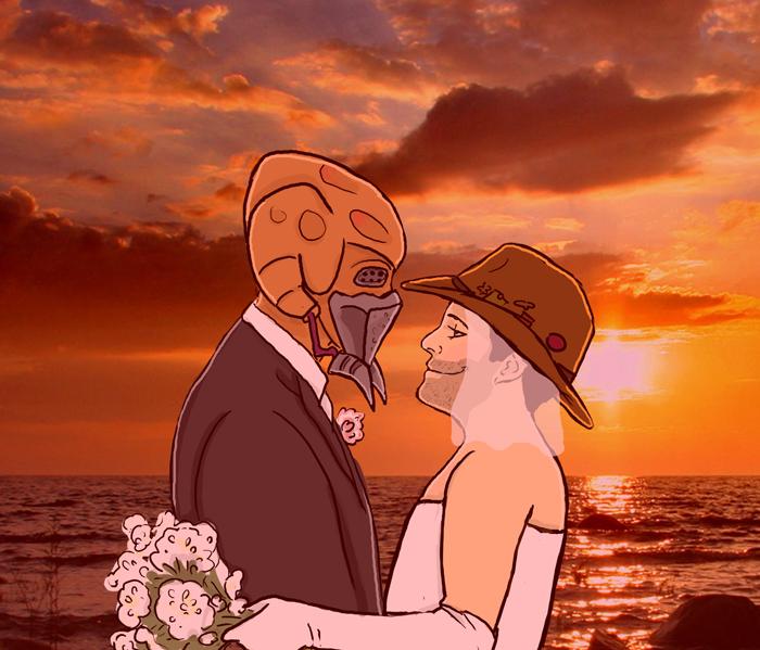 Plo Koon X Dave Filoni Wedding By Thehaydenclone On Deviantart
