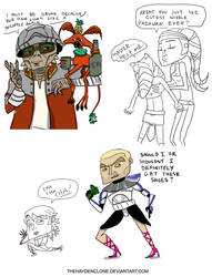 Clone Wars Doodles 2 by thehaydenclone