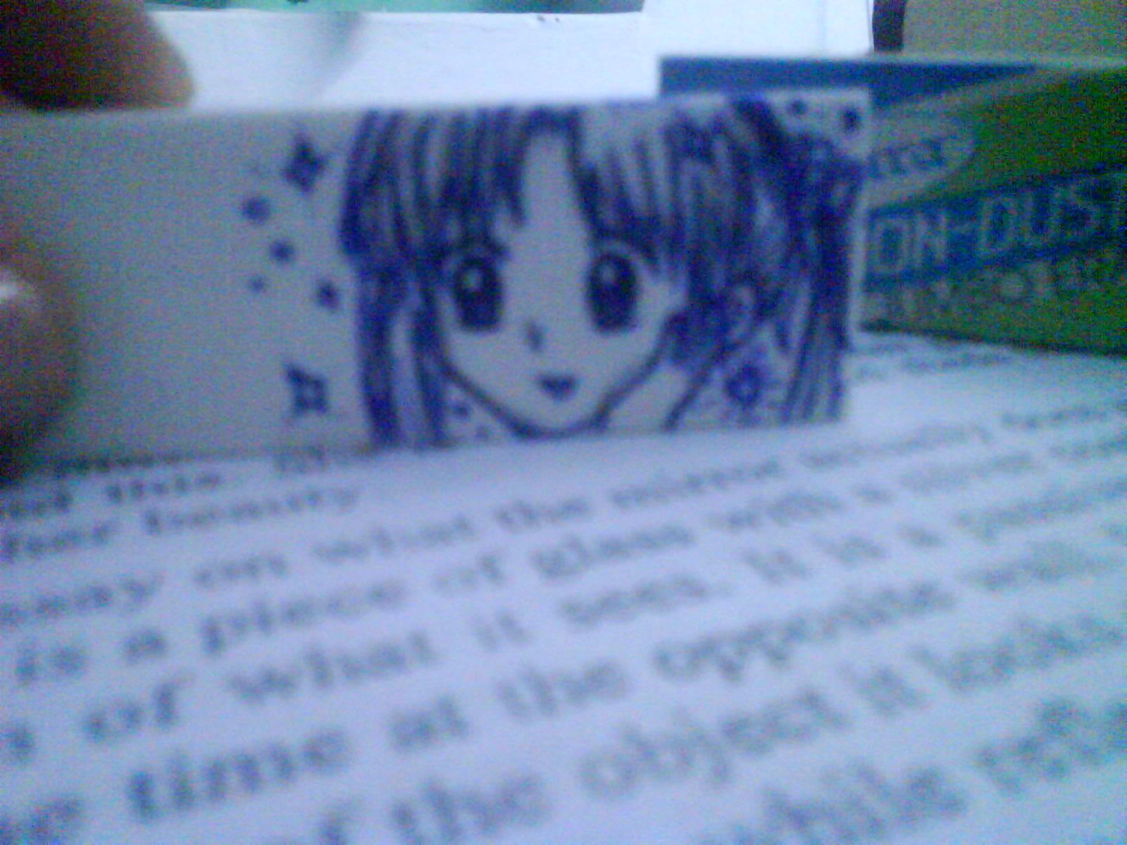 Mikan Sakura on my eraser by MystikWat3r on DeviantArt