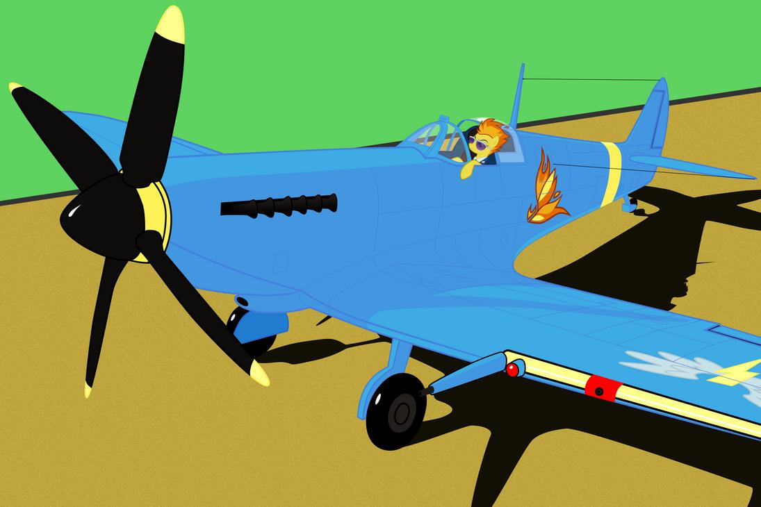 Spitfire on Spitfire by Vladar4