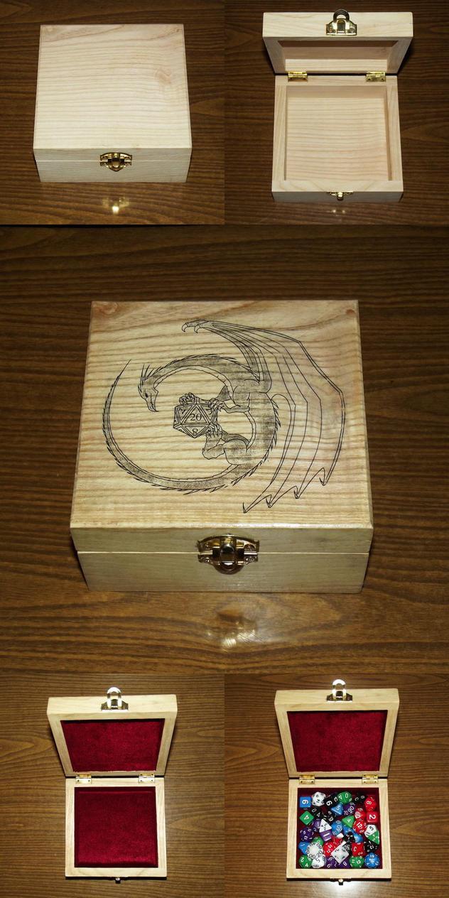 Dice box by Vladar4