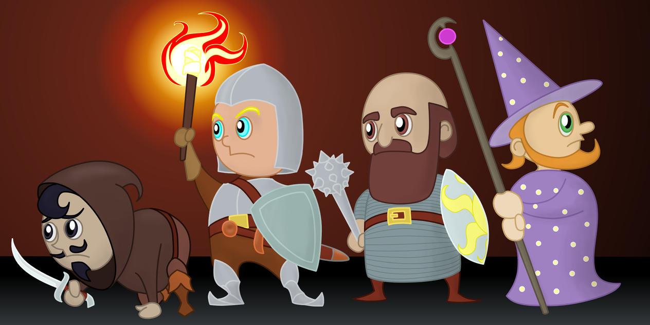 Brave Adventurers by Vladar4