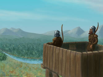 Outpost by Vladar4