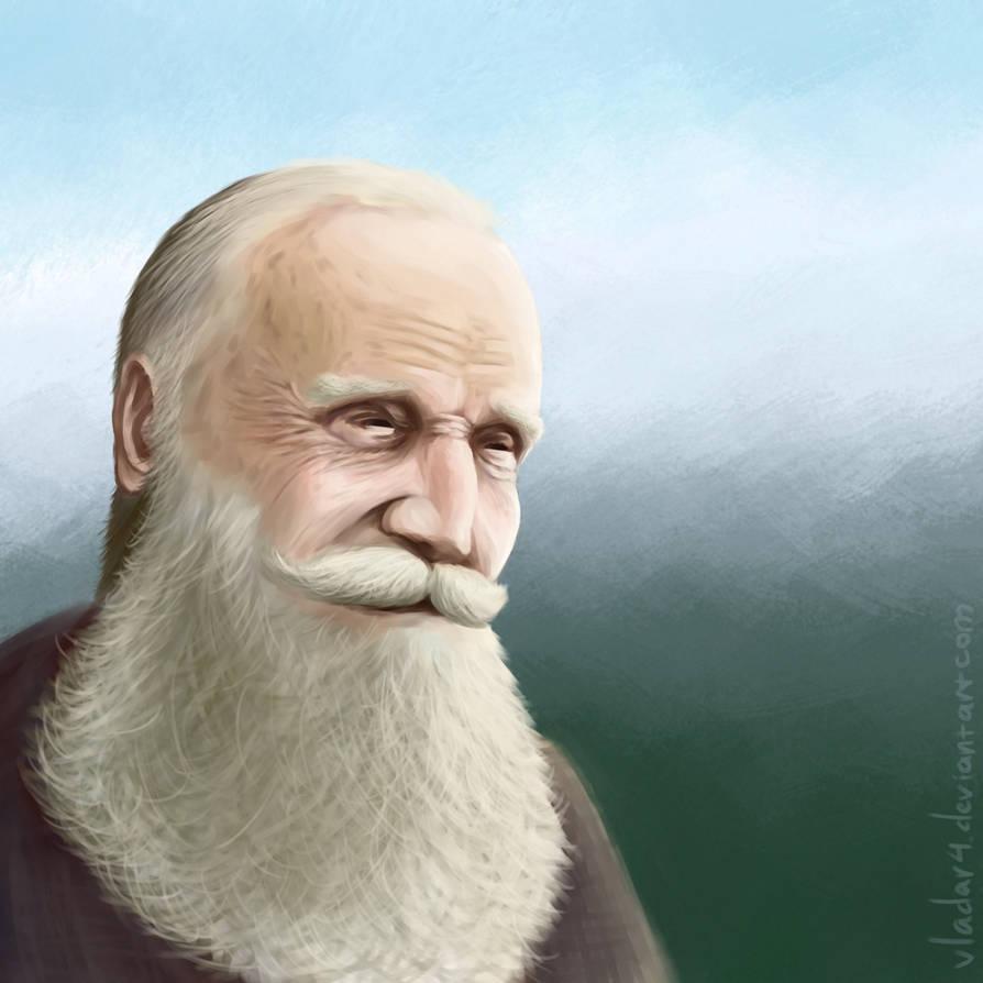 Bearded Man by Vladar4