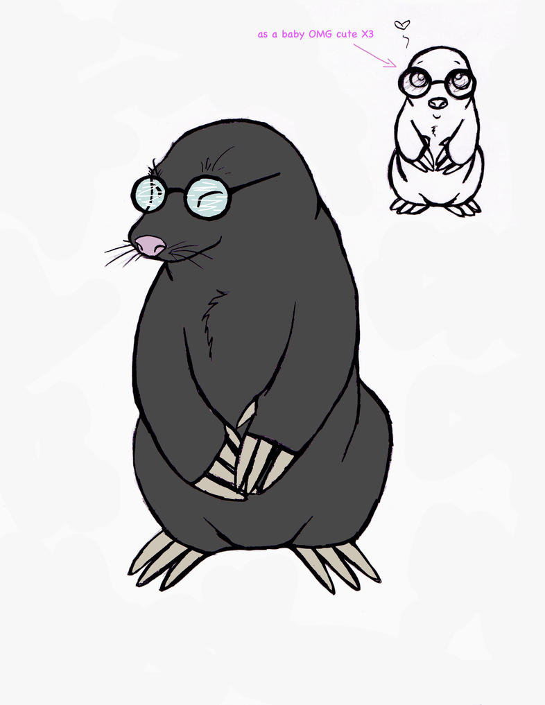 Cute mole day cartoon - photo#38