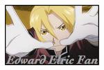 Edward Elric Fan stamp by meg15warrior