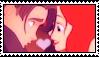 Jim X Ariel Fan stamp