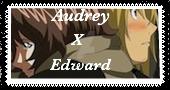 AudreyxEdward stamp by meg15warrior