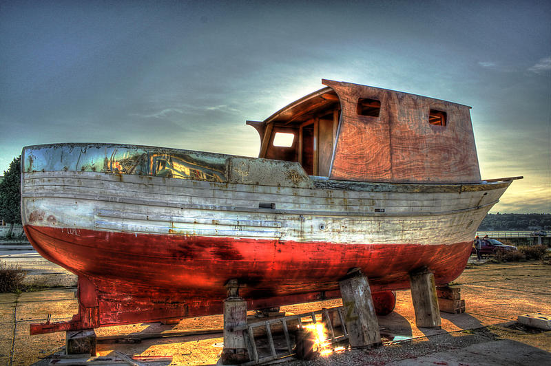 Pin by myrtle philbeck on art pinterest for What to do with an old boat