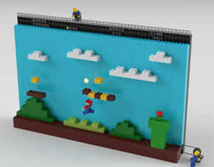 Lego Mario: Behind the scenes