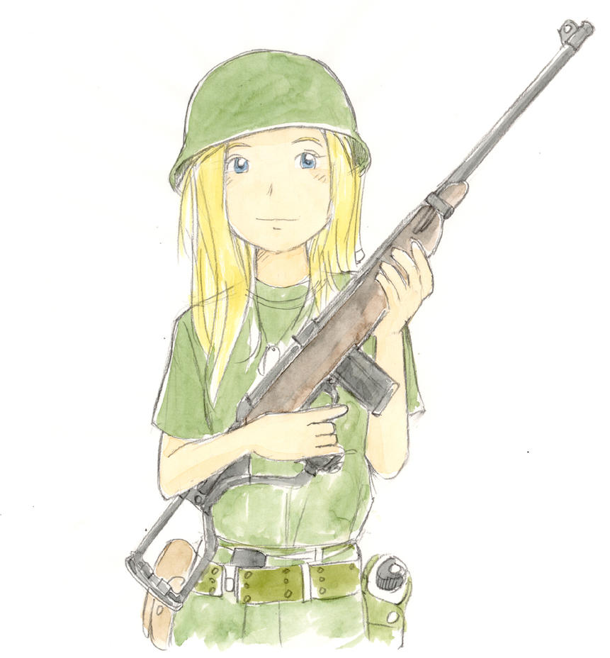 M1A1 by toto-sakana