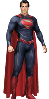 Superman New 52 Transparent background by Gasa979