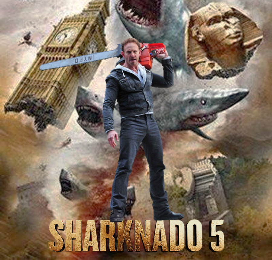 Sharknado 5 Global Swarming Poster by gasa979 on DeviantArt