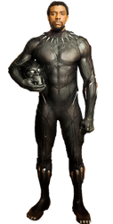 T'Challa Black Panther PNG by Gasa979