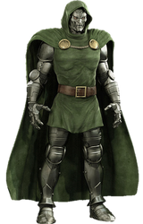 Dr Doom PNG by Gasa979
