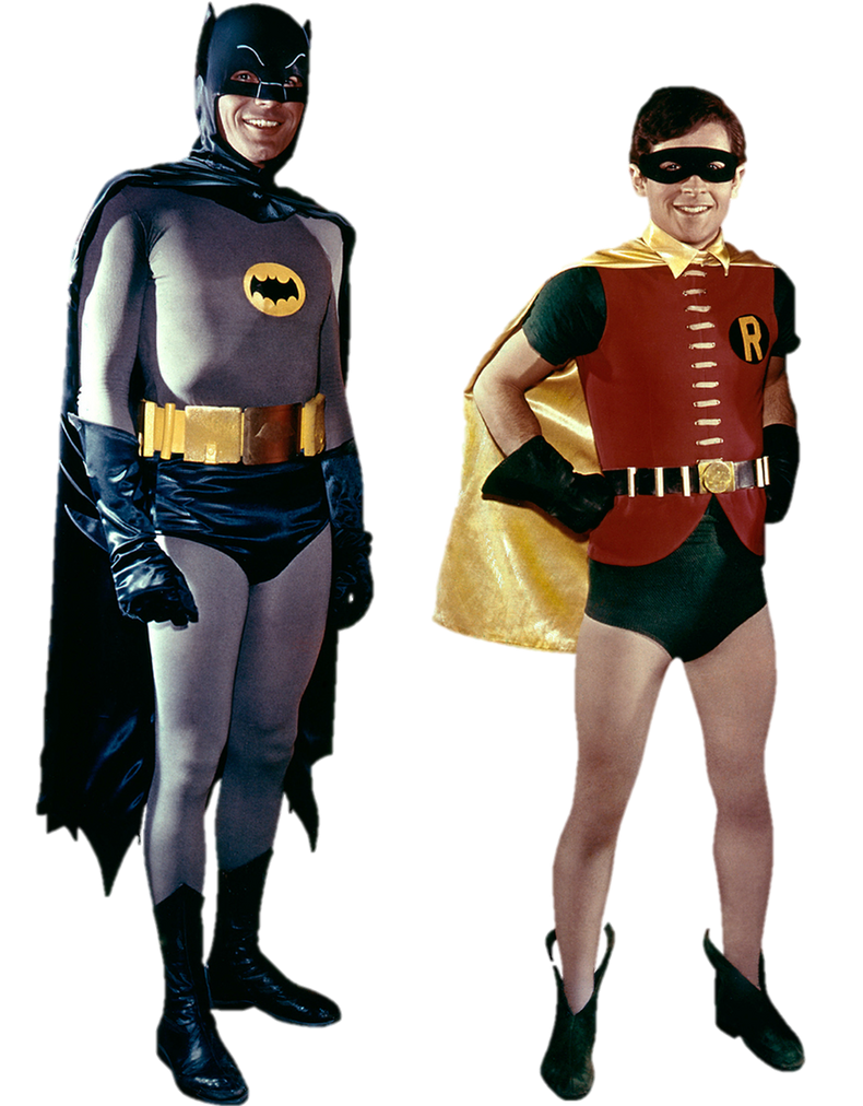 Batman And Robin 66 Transparent Background By Gasa979