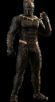 Killmonger Golden Jaguar - Black Panther Movie PNG by Gasa979