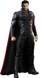 Thor Avengers Infinity War PNG by Gasa979