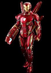 Iron Man Avengers Infinity War PNG by Gasa979