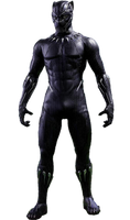 Black Panther Hot Toys PNG