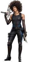 Domino Deadpool 2 PNG by Gasa979