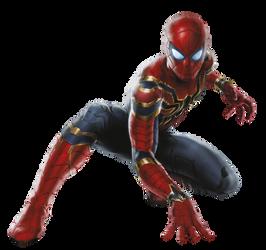Spiderman Avengers Infinity War by Gasa979