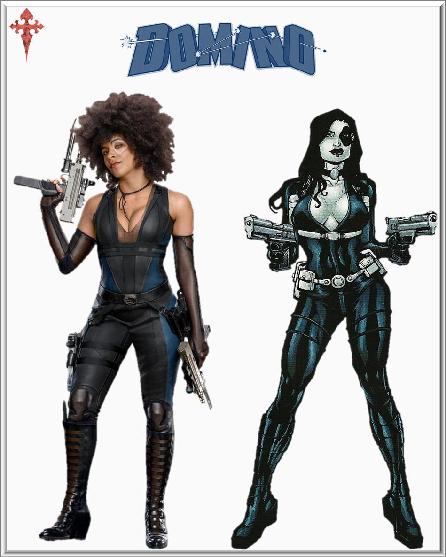 Domino :Deadpool 2 By Gasa979 On DeviantArt